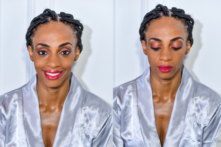 We know it cost a lot of money to fly your personal makeup artist to Jamaica, so since it will be next to impossible. schedule a time before the wedding day an do a trial with a professional makeup artist from Jamaica