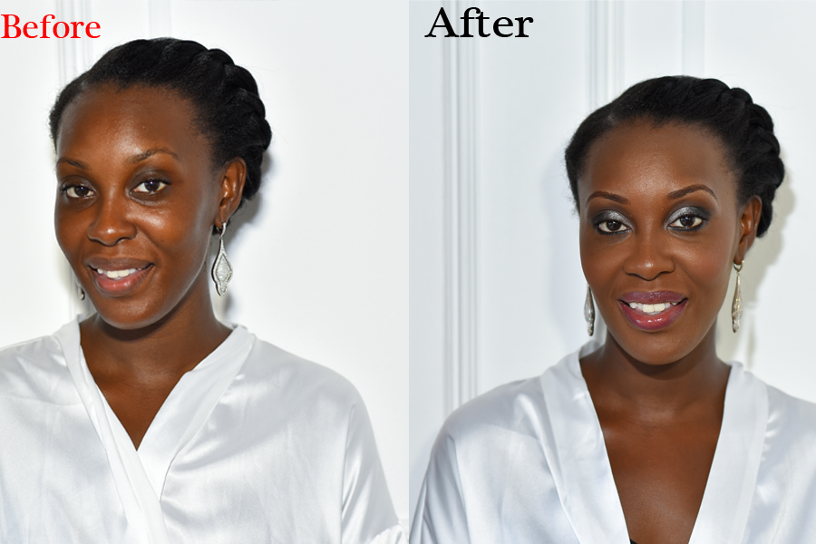 Bridal makeup artist Nicola Brown offer the the most exciting wedding day makeup that is just right for the tropical island of Jamaica. The effectiveness of good makeup on a wedding day can enhance the beauty of your wedding photos . Bridal makeup artist for weddings in the areas of Negril ,Montego Bay, Ocho Rios, Kingston, ect , Jamaica.